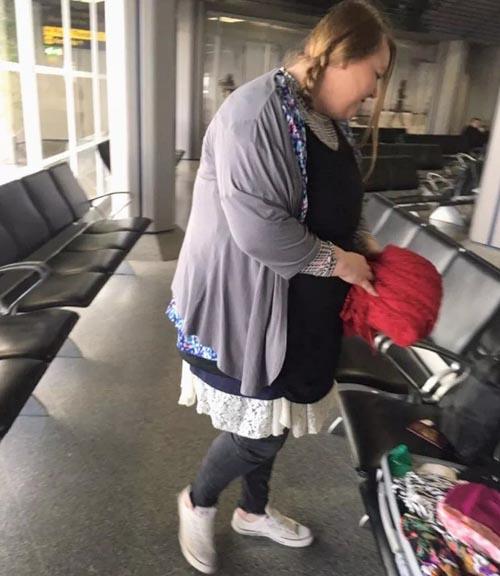 слишком тяжёлый багаж