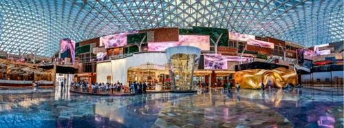 рекордная стеклянная крыша