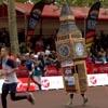 башня участвует в марафонском беге