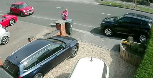 любительница царапать машины