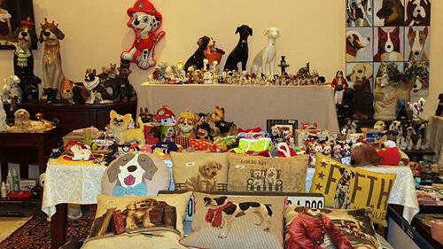 коллекция любительницы собак