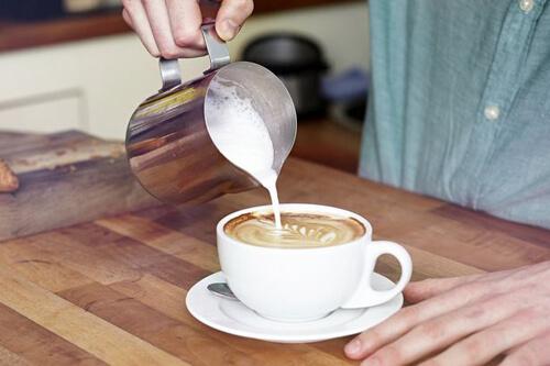 тест с кофейной чашкой
