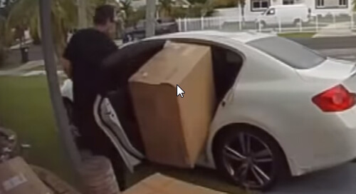 слишком большая коробка