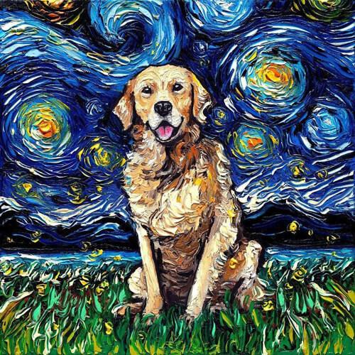 собаки на картине ван гога