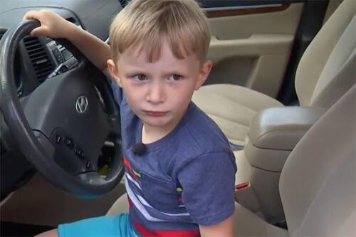 мальчик угнал машину прадедушки