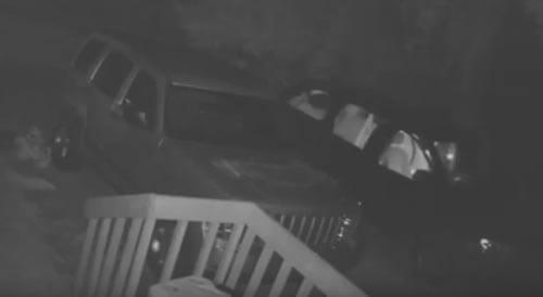 дух открыл дверь автомобиля