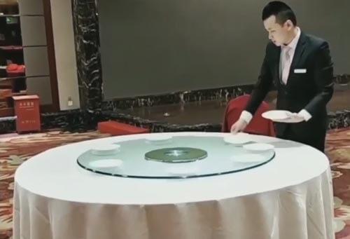 быстрая сервировка стола