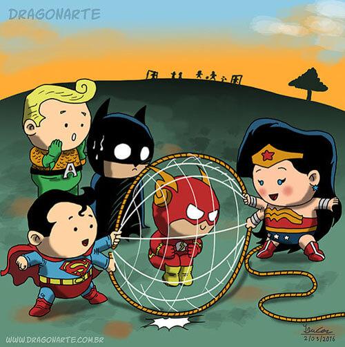 детство знаменитых супергероев