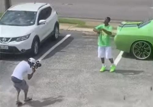 зелёная машина в музыкальном клипе