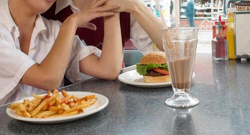 блюдо для не голодных девушек