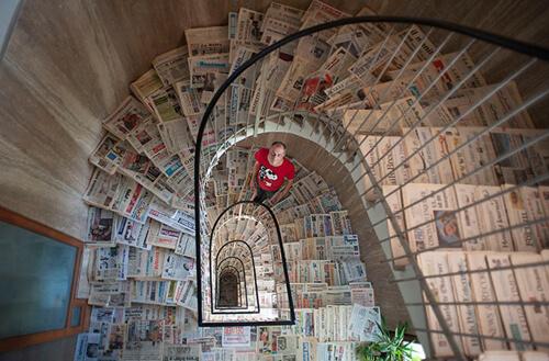 рекордная коллекция газет