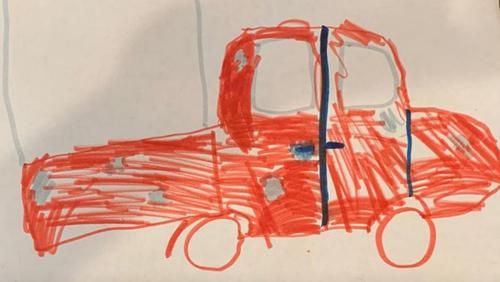 рисунок разыскиваемого автомобиля