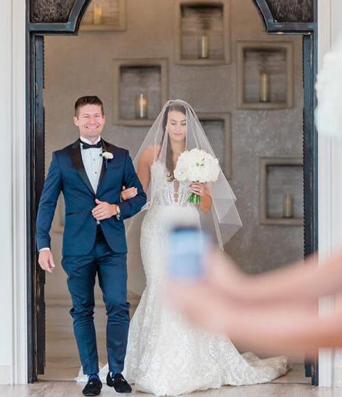 испорченная свадебная фотография