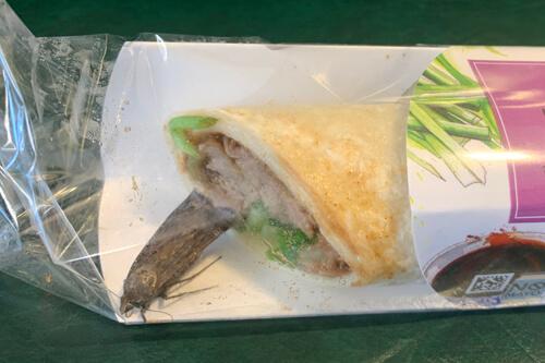 живой мотылёк в обеде