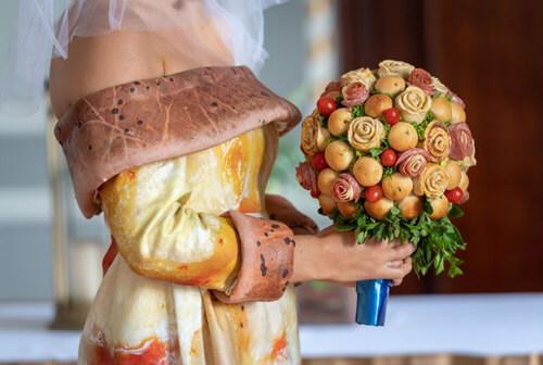 свадьба в стиле пиццы