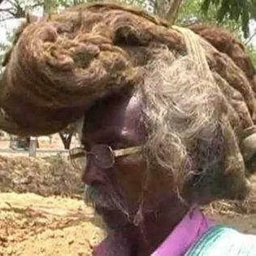 волосы не стригут и не моют