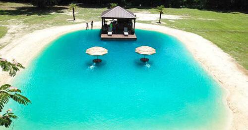 собственный тропический курорт
