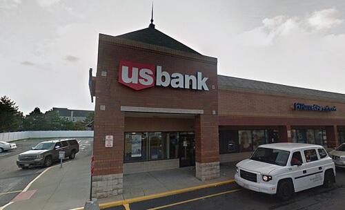 невнимательный грабитель банка