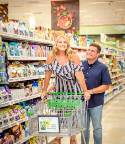 фотосессия в супермаркете