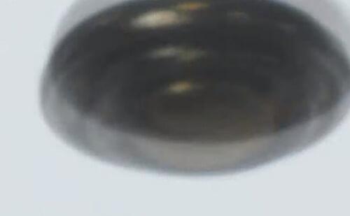 летающую тарелку сняли на видео