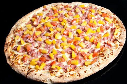 арбуз кладут на пиццу