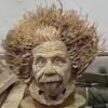 портрет из древесного корня
