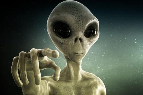 инопланетное лицо на снимке узи