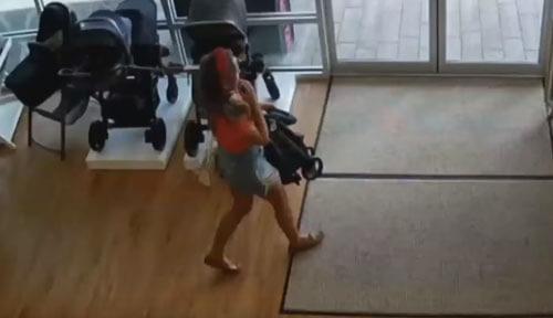 воровка забыла ребёнка в магазине