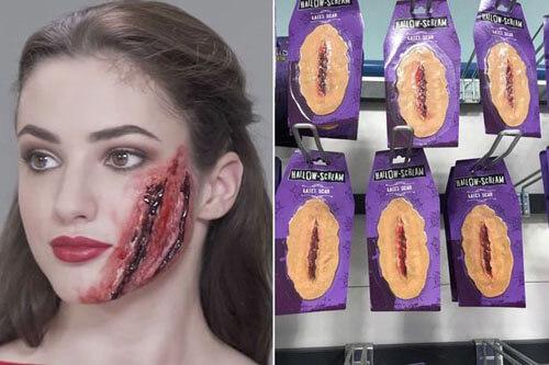 кровавые искусственные шрамы