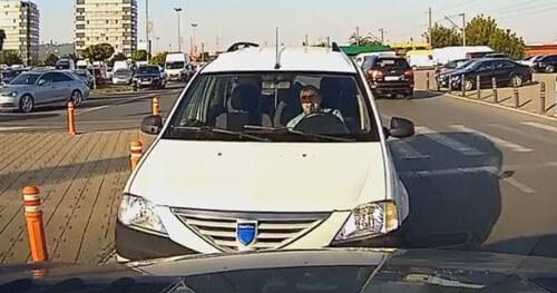 водитель на неправильной полосе