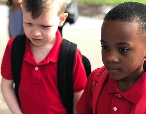 доброта школьника к аутисту