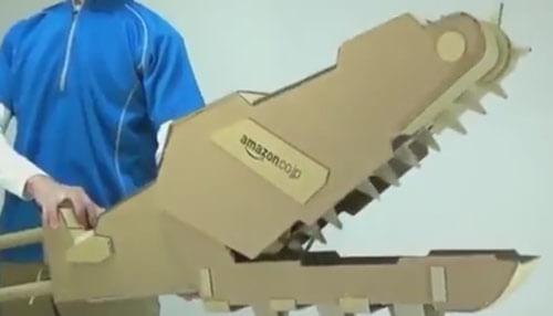 фантастическое оружие из картона