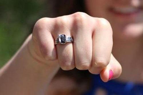 кольцо потерялось на много лет