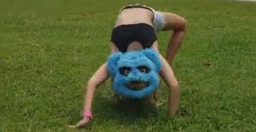девочка превращается в чудовище
