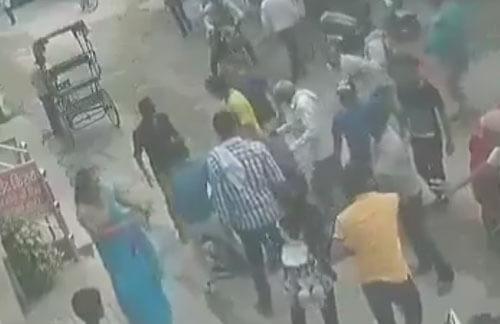 женщина дала отпор грабителю
