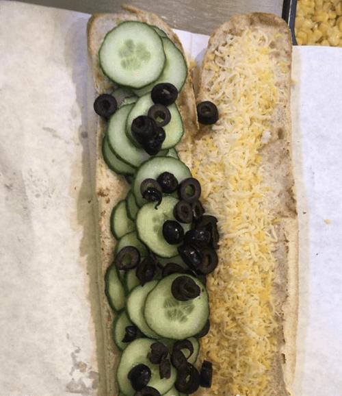 необычная начинка для бутерброда