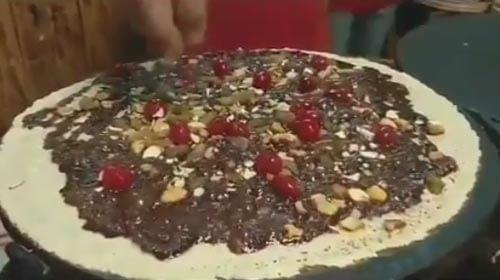 традиционное блюдо с шоколадом
