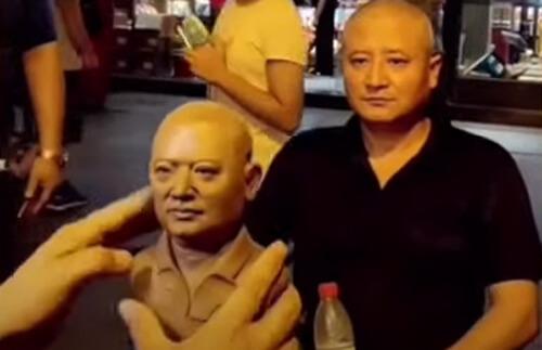 скульптурные портреты из глины