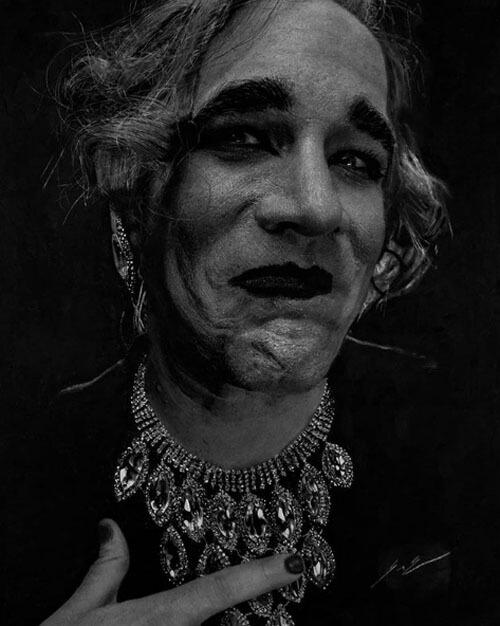 портреты нарисованные углём
