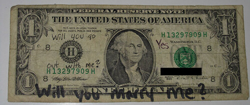 любовь началась с доллара