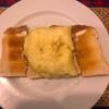 картофельное пюре на тостах