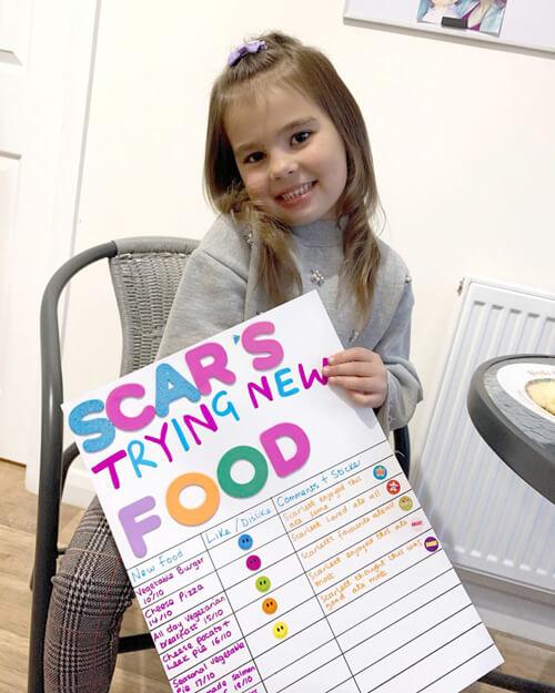 разнообразное меню для дочки
