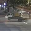 ограничительный барьер на дороге