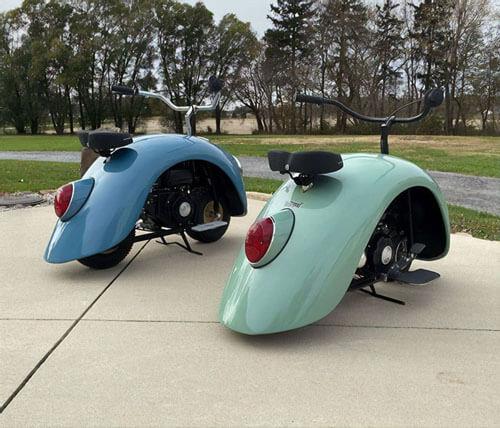 скутеры из автозапчастей