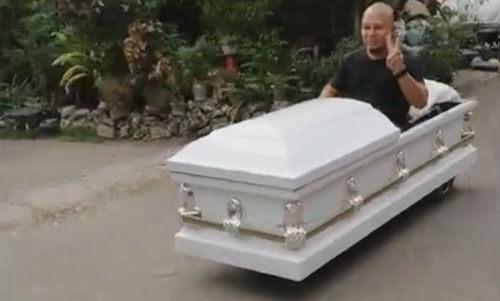 поездка в белом гробу