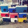 домики для бродячих кошек