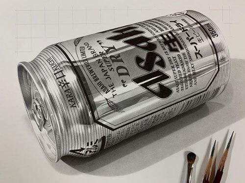 реалистичные работы карандашом