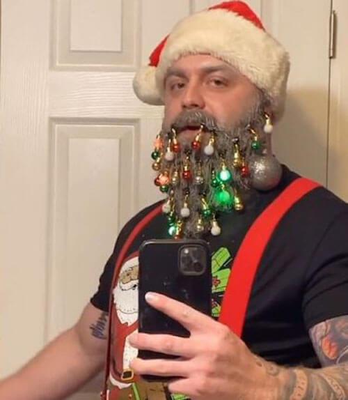 бороду украшают к празднику