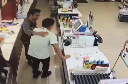 добрый грабитель магазина