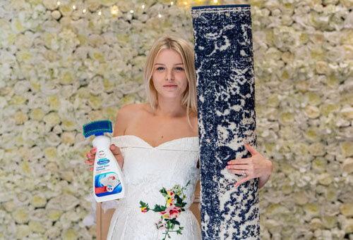 странная свадьба с ковром
